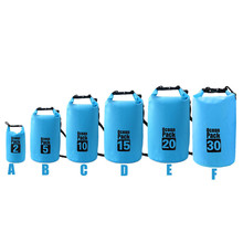 Waterproof Dry Bag Outdoor Sport Swimming Rafting Kayaking Sailing Canoe Outdoor Cycling Bicycle Accessories Top Quality Jane 12