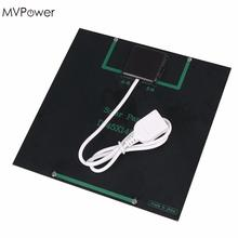 MVpower  6V 3W 580-600MA USB Solar Power Battery Charging Charger Panel for Mobile Cell Phone MP3 MP4 PDA
