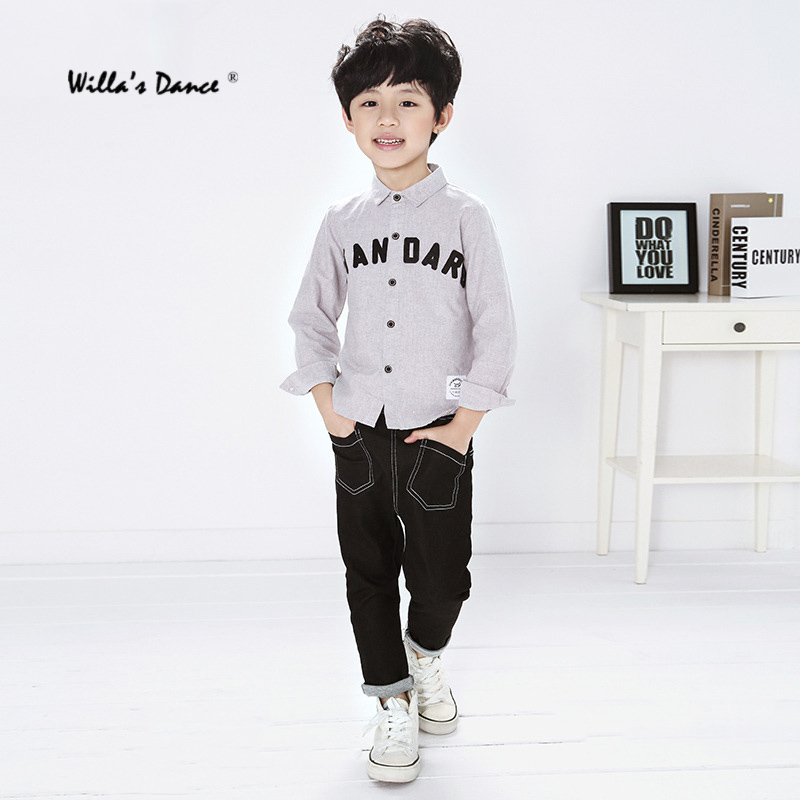 1511043579 Willa s Dance Cotton Boys Jeans 2017 Autumn Winter Casual Trousers for Kids  Boys Pants Brand Big Boys Jeans-in Jeans from Mother   Kids on  Aliexpress.com ...