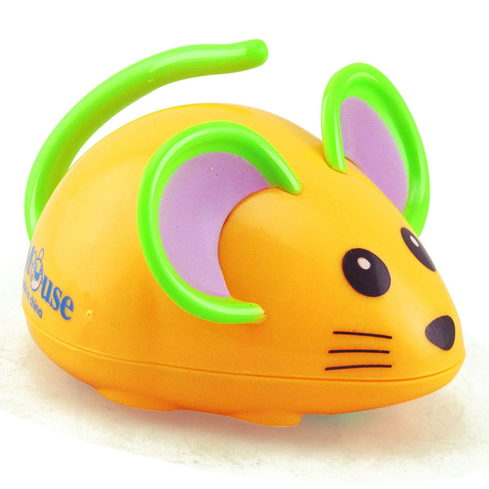 Classic Clockwork Cartoon Mouse Wind Up Toys Kids Educational Funny Playing Toys