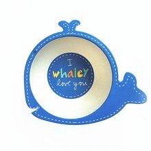 Children Bowl Environmental Bamboo Fiber Bowl Cartoon Dishes Baby Feeding Tableware Child Infant Toddler Portable Assiette