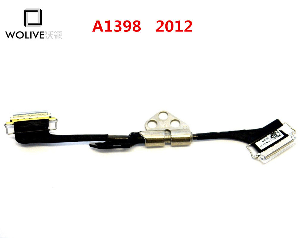 New LCD Display Cable for Apple Macbook Pro 15 Retina A1398 2012 2013 2014 2015 LCD LVDS Cable & Left Hinge image