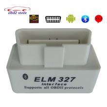 1.5 Super Mini ELM327 Bluetooth Obd2 DEL OLMO 327 V Coche Herramienta de diagnóstico Del Escáner Para Android elm327 V1.5 Obd 2 Adaptador Herramienta de diagnóstico