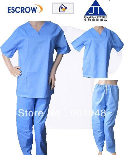 medical scrub set