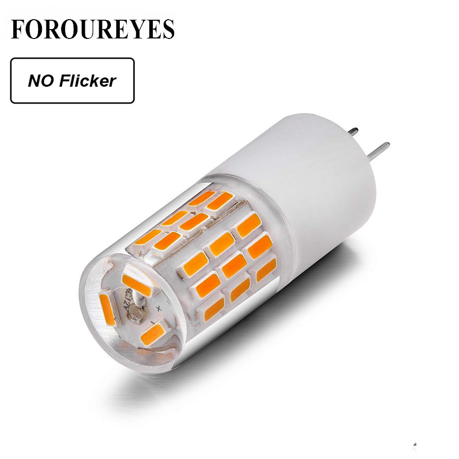 10pcs No Flicker G4 LED Lamp 12V 3W 45LEDS SMD4014 Lamp 360 Beam Angle LED Bulb Replace 30W Halogen Crystal Light Chandelier
