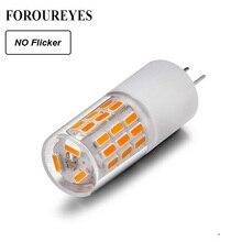 Ampoule LED dangle de faisceau lampe à LED sans scintillement, lampe LED, éclairage en cristal halogène, 10 pièces, G4 360 12V, 3W 45LED SMD4014, lustre, 30W