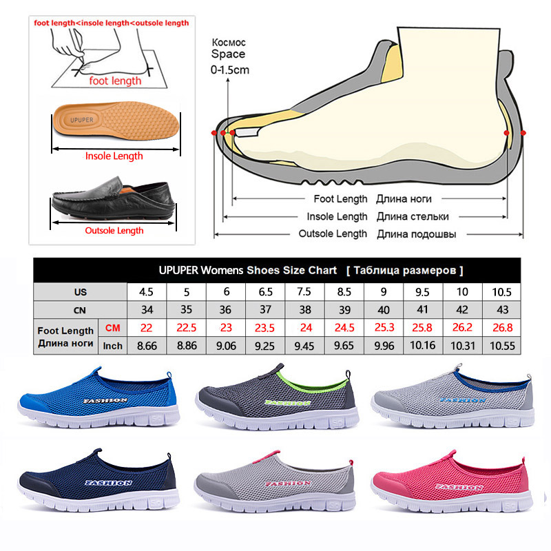 Spring Summer Women Sneakers Breathable Mesh Light Flat Loafers Casual Shoes Women Fashion Outdoor Walking Shoes Plus Size 35-43 5