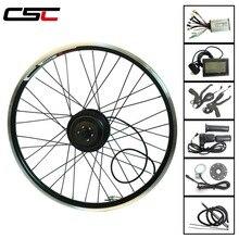 Комплект для переоборудования электрического велосипеда Bluetooth е-байка 36В 250 Вт 350 Вт мотор для центрального движения в течение 20-29 дюймов 700C, фара для электровелосипеда в комплект переднее колесо двигатели с ЖК-дисплей Дисплей