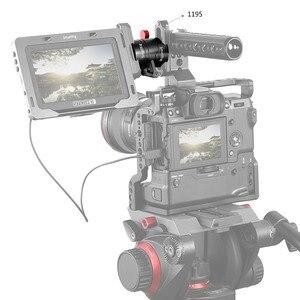 "Image 4 - SmallRig EVF הר DSLR אוניברסלית מצלמה Rotatable צג מצלמה הר עם נאט""ו מהדק כדי לתקן צג עם מצלמה 2141"