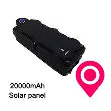 3G WCDMA Solar energy 2100MHz Vehicle GPS tracker TK20SGSE 20000mAh battery life Drop-trigger alarm