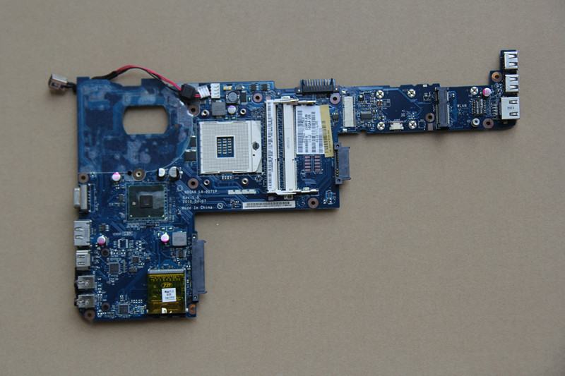 K000104160 For Toshiba Satellite M600 M645 Laptop motherboard NBQAA LA-6071P HM55 DDR3 fully tested work perfect original for toshiba satellite m600 m640 laptop motherboard mother board la 6072p k000109650 100% test ok