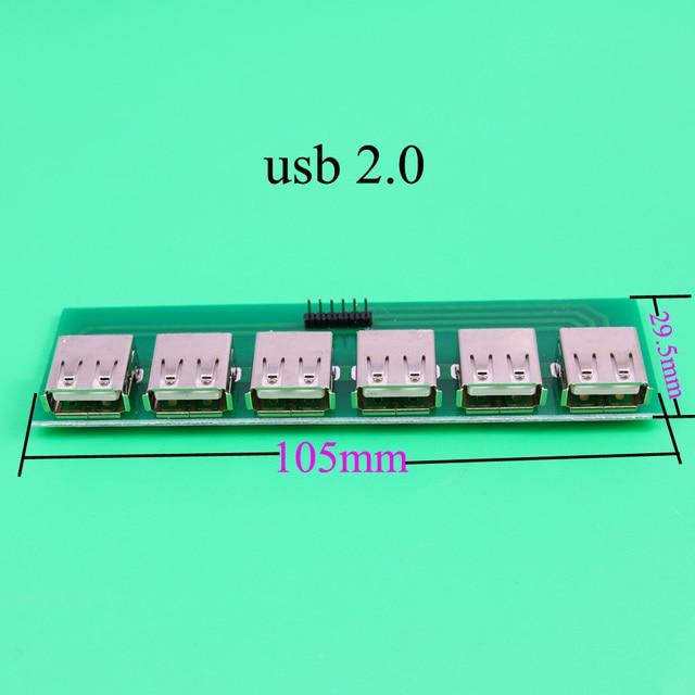YuXi HDMI/micro USB à DIP adaptateur convertisseur carte de test de circuit PCB USB 2.0 3.0/type-c mâle femelle micro mini 5pin 19pin