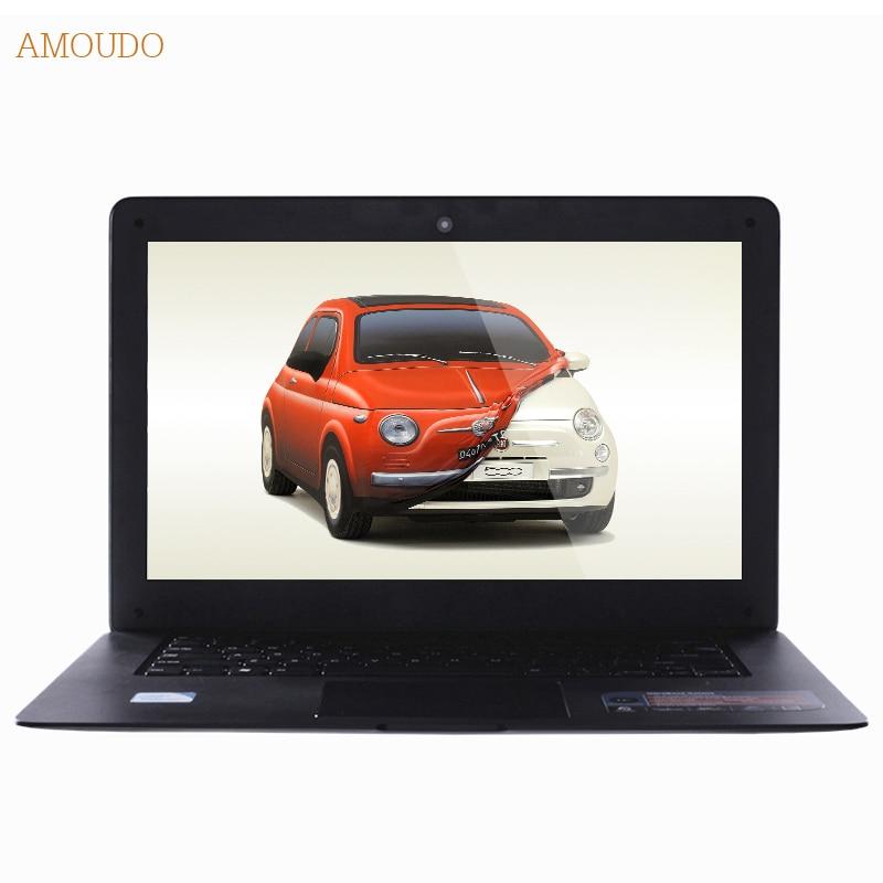Amoudo 6C 4GB RAM 120GB SSD 1TB HDD 14inch 1920 1080 FHD Windows 7 10 Dual