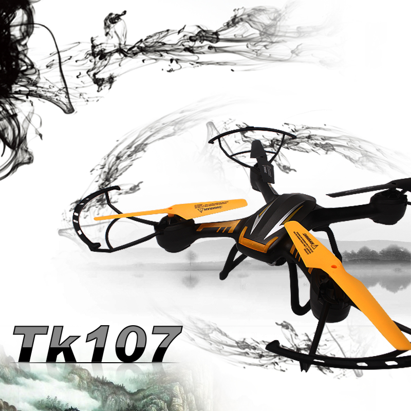 Newest RC Quadcopter TK107 RC drone Helicopter 6 Axis Gyro 2.4G 4.5CH with 2.0 HD Camera and 4GB SD card VS U842 U919A 2015 new jxd391 2 4g 4ch rc helicopter 6 axis gyro rc quadcopter with camera and flashing led light big drone as festival gift