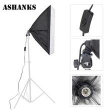 ASHNAKS FotograficaTent Фотоаппаратура Фотостудия Softbox 50×70 см с Одна Лампа Держатель Для E27 Непрерывное Освещение