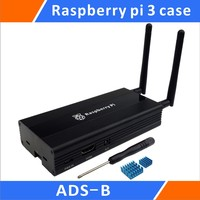 Aluminum Case For ADS B Raspberry Pi Stratux DIY Kit Black