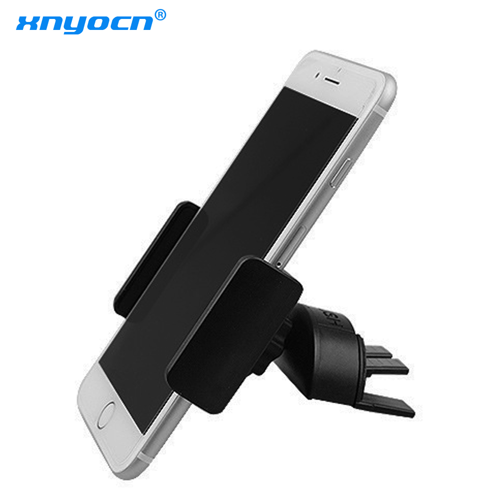 Xnyocn Universal Car CD Dash Slot Phone Mount Holder Portable Black Holder Stand For Smart Phone New Hot Air Vent Phone Holder