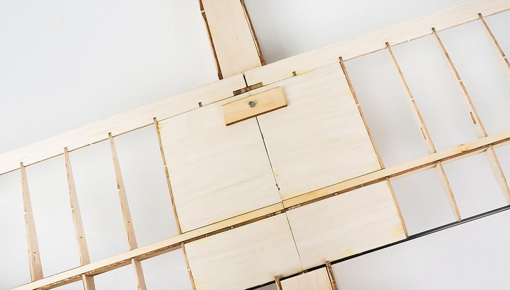 ბალზას ხის თვითმფრინავის - დისტანციური მართვის სათამაშოები - ფოტო 5
