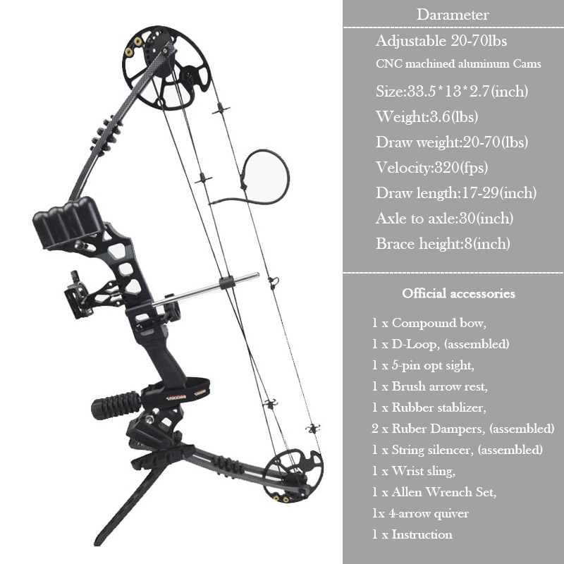 Junxing M120 Dream Hunting Compound Bow Right Hand Outdoor Bows Arrows Archery Powerful Shooting M120 Dream Arrows Archerypower Shoots Aliexpress