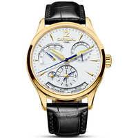 CARNIVAL Fashion Multifunction men Watch Energy display automatic Watch Men 24hours display Calendar Luminous mechanical watches