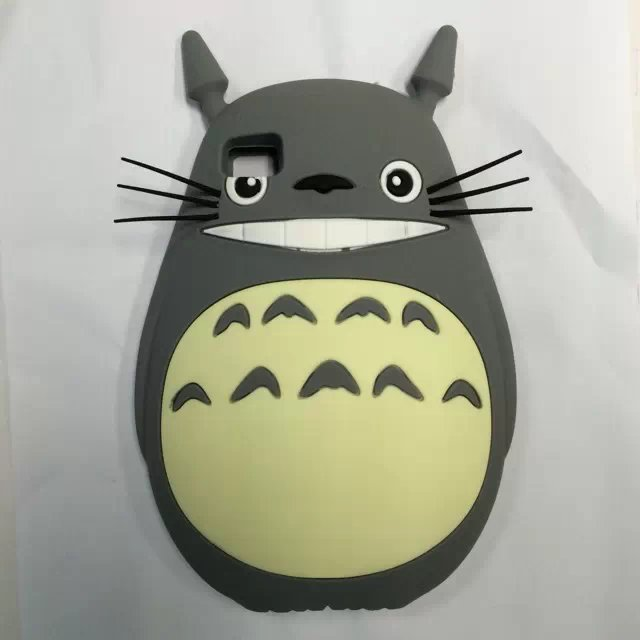 XiaoMi 3 MI3 M3 New 3D Cartoon Cute Japanese Neighbor Totoro Cat Cover Rubber Soft Silicone Skin Phone Case - Rose Angel store
