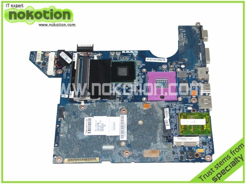 NOKOTION 576944-001 519094-001 LA-4101P for HP PAVILION DV4 MOTHERBOARD GM45 DDR2 nokotion 572952 001 la 4101p main board for hp dv4 dv4t 1400 laptop motherboard gm45 ddr2 with free cpu warranty 60 days