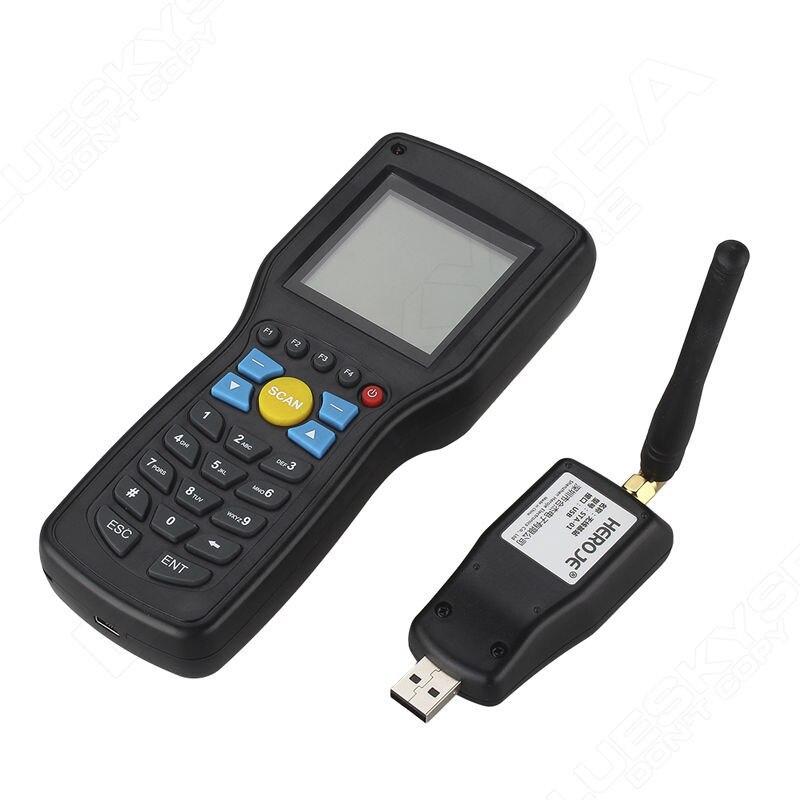 Оригинальный heroje 1D EAN13 UPCA/E провод Беспроводной сканер штрих-кода данных инвентаризации коллектор терминал с поисковой