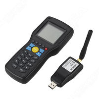 Original Heroje 1D EAN13 UPCA/E Wire Wireless Barcode Scanner Data Inventory Collector Terminal With Search Engine