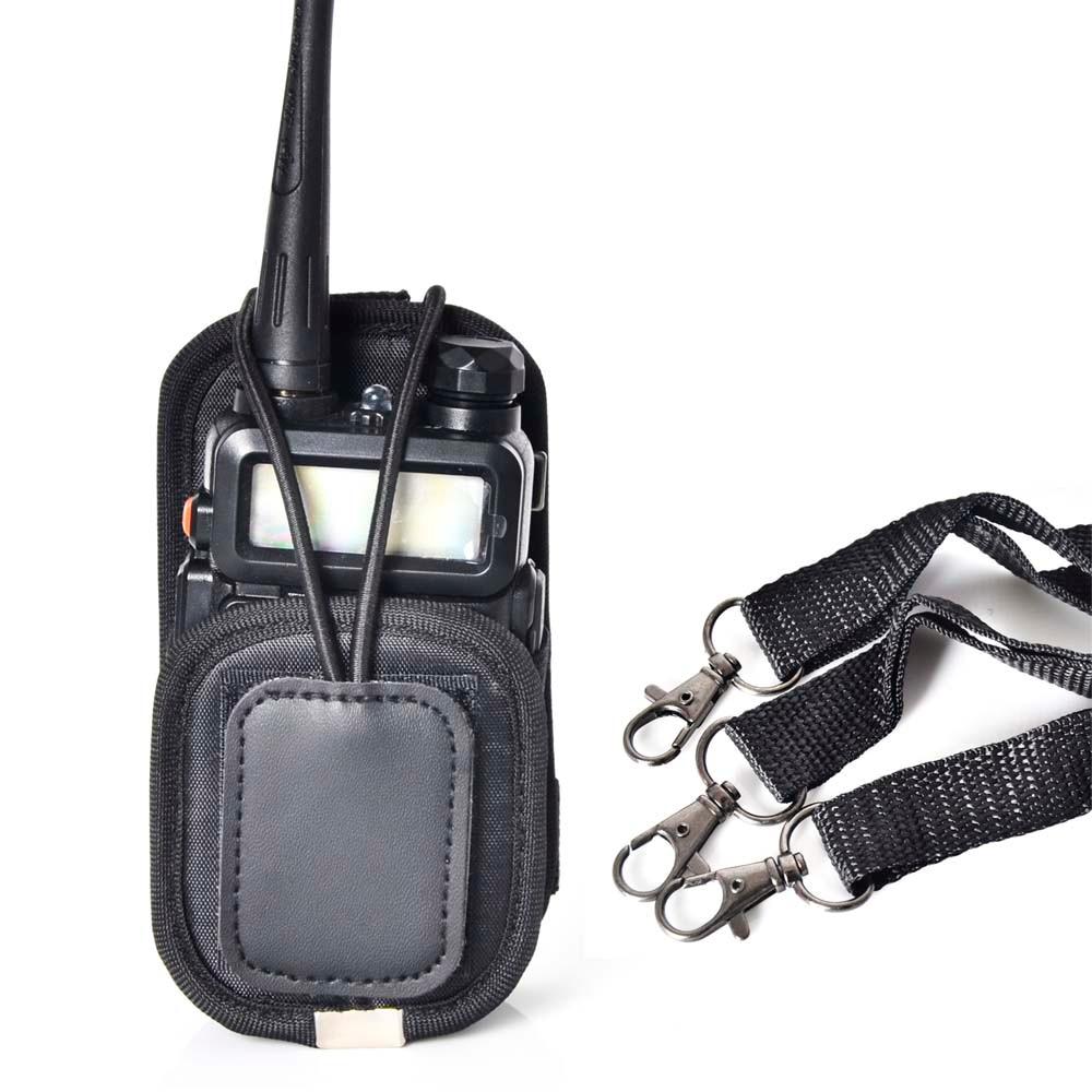 bilder für Nylon universellen PT-01 holster tragen fall-abdeckung für UV-5R GP328 GP338 Walkie talkie funkgeräte