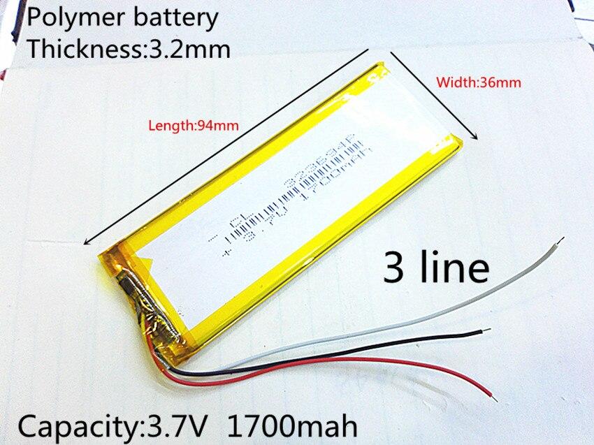 RNEW 323696 XWD 323696P 323694 3.8V 1700MAH 1600MAH battery li-Lion for china clone MTK phone goophone I6 6S IP6