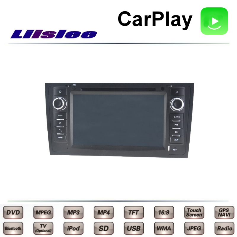 For Audi A6 C5 4B 1997~2004 LiisLee Car Multimedia TV DVD GPS Radio Carplay Original Style Navigation Navi
