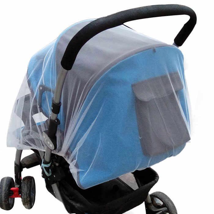 Verão seguro carrinho de bebê inseto cobertura completa mosquito net carrinho de bebê cama netti têxteis para casa anti-mosquito inseto 626