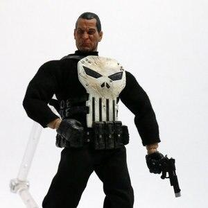 Image 3 - 15 cm Mezco Tek: 12 Punisher PVC Action Figure Heykeli Modeli Oyuncak Bebek Versiyonu