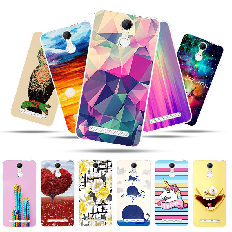 Bolomboy Painted Case For <font><b>Homtom</b></font> HT27 Case Silicone Soft TPU Cases For <font><b>Homtom</b></font> <font><b>HT</b></font> <font><b>27</b></font> Cover Wildflowers Cute Animal Bags 5.5 inch image