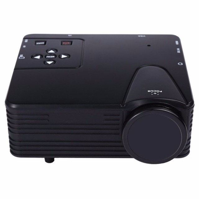 WATCO originais H80 Mini Projetor Full Hd 1080 p Projetor de Vídeo LEVOU 100 Lumens Hdmi Home Theater LCD Projetor Multimídia USB