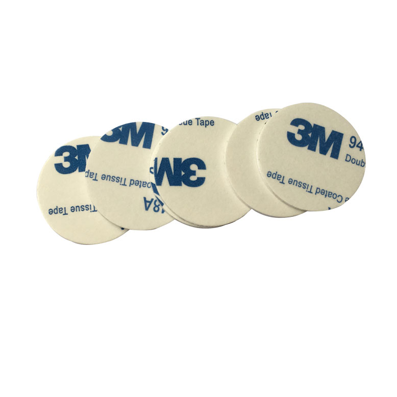 100PCS 25mm Self Adhesive RFID 13.56MHZ  IC Coin Card Sticker For Access Control System Tracking Car