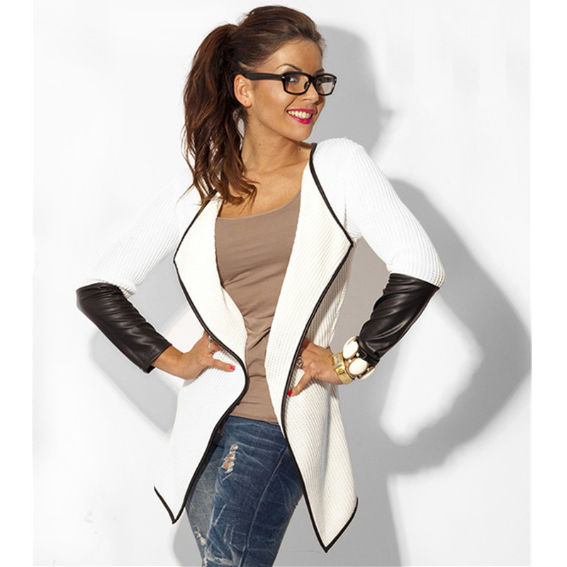 Online Get Cheap White Leather Coat -Aliexpress.com | Alibaba Group