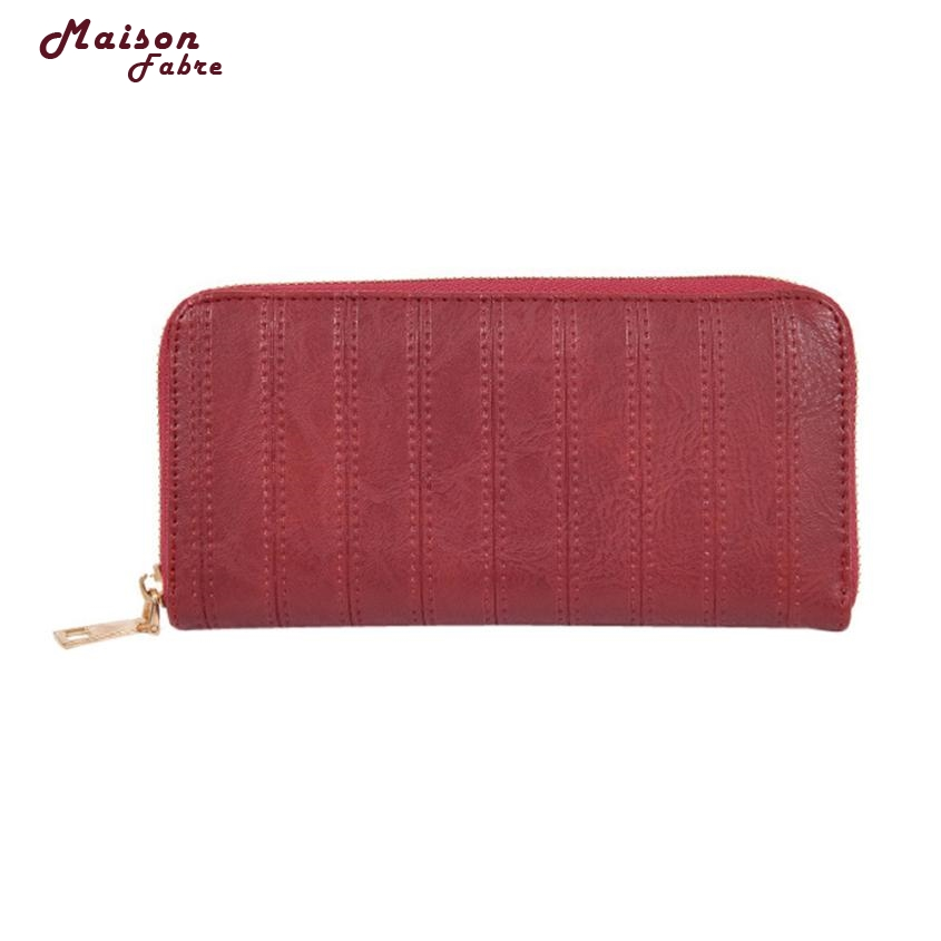 Maison Fabre Bag New Fashion Lady Women Leather Wallet Long Clutch Card Holder Purse Dropshipping Mar30