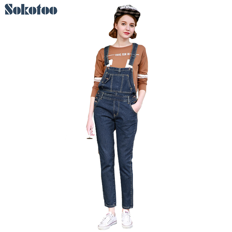 Compare Prices on Cute Women Denim Overalls- Online Shopping/Buy ...