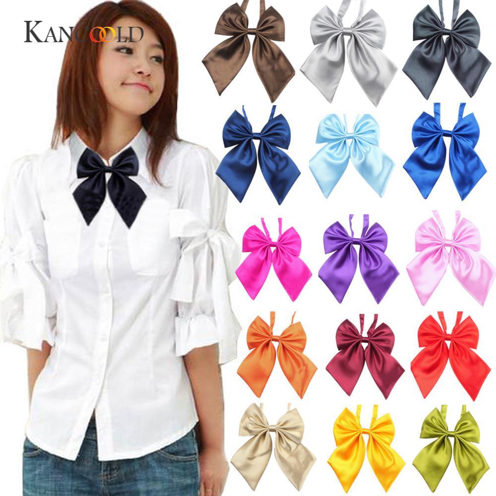 KANCOOLD bow tie Fashion Novelty Suits Classics Fashion UniqueWomens Girls Novelty BIG Bow Tie Wedding Giftgloves JAN22