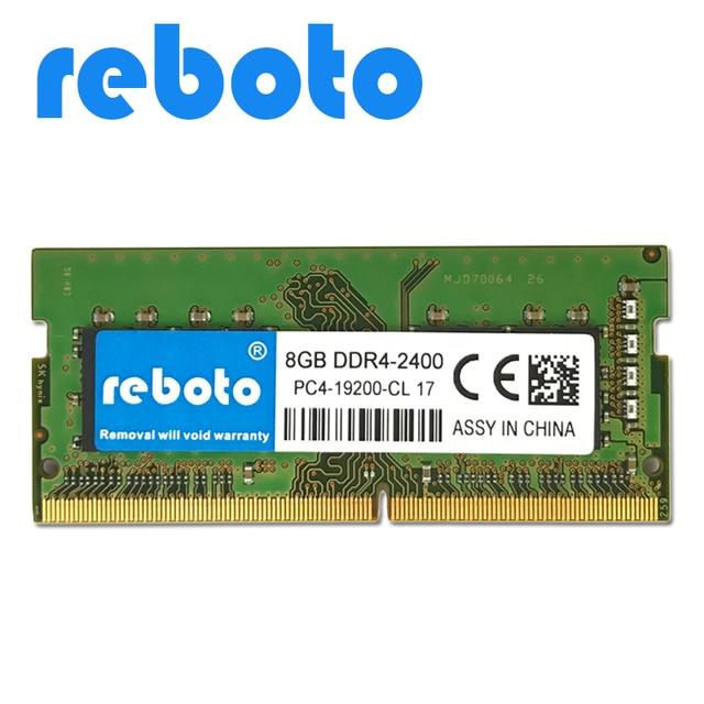 Reboto Ddr4 4gb 8gb 2400mhz Low Voltage 1 2v Sodimm Memoria Laptop