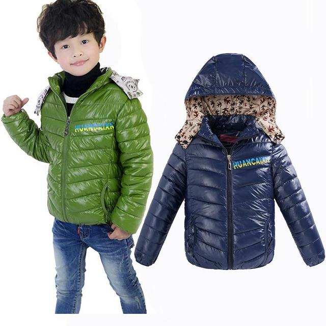 2c88d9779 2018 Kids Boys Winter Jacket Children Boy Outwear Child Clothing ...