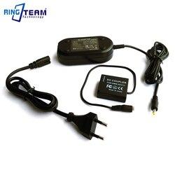 Adaptateur secteur DMW-AC8 DMW-DCC11 Coupleur CC pour Panasonic Lumix Caméras DMC GF6 GF5 GF3 GF3K GX7 S6 S6K GX80 GX85 LX100 ZS110