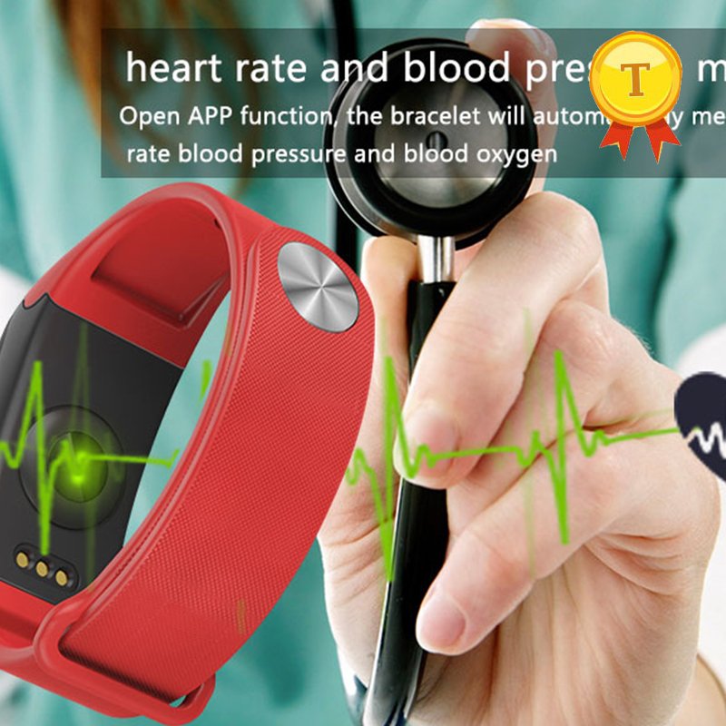 2018 Best selling Wholesale product blood pressure Bluetooth 4.0 health bracelet smart bracelet smartband with HR and BP monitor 2015 sex products real tablet goji berry xinjiang apocynum tea health wholesale gift box 120g have high blood pressure and fat