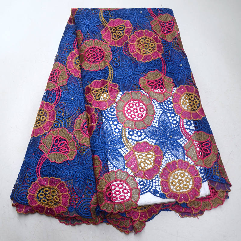 FolaSade African cord Lace Fabric Hot Sell 2019 New Arrival African Cord Lace Guipure Lace Fabrics