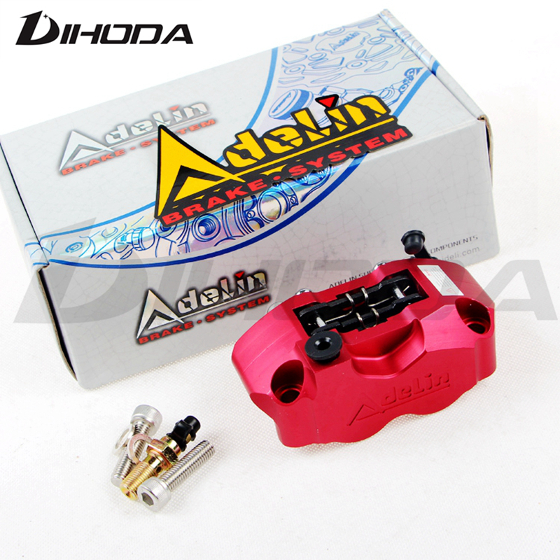 Motorcycle modification electric motorcycle 4 piston brake calipers pump Adelin 200 220 for WISP RSZ Turtle King small radiation adelin adl 21 motorcycle modification electric motorcycle double piston brake calipers for wisp rsz yamaha small crab calipers