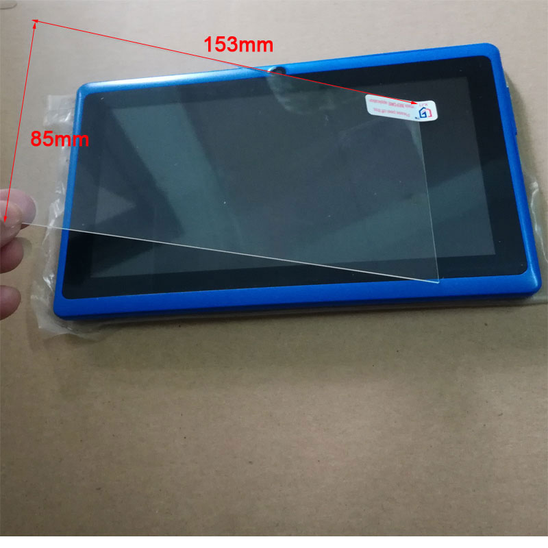 153x85MM Universal Tempered Glass  Screen Protective Film for NERLMIAY 7 inch A33 tablet
