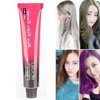 100ml Organic natural purple blue no ammonia hair color permanent hair dye unisex professional hair color cream paint for hair