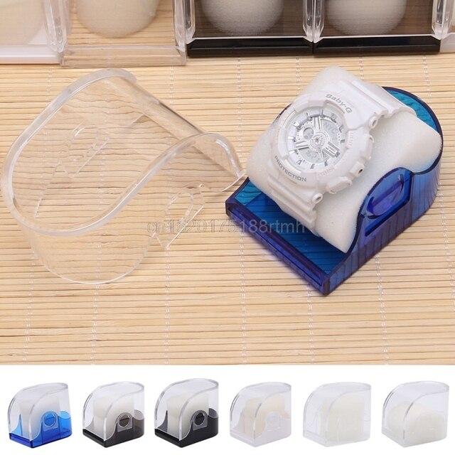 Free delivery Fashion Wrist Watch Box Jewelry Bangle Bracelet Display Storage Ho