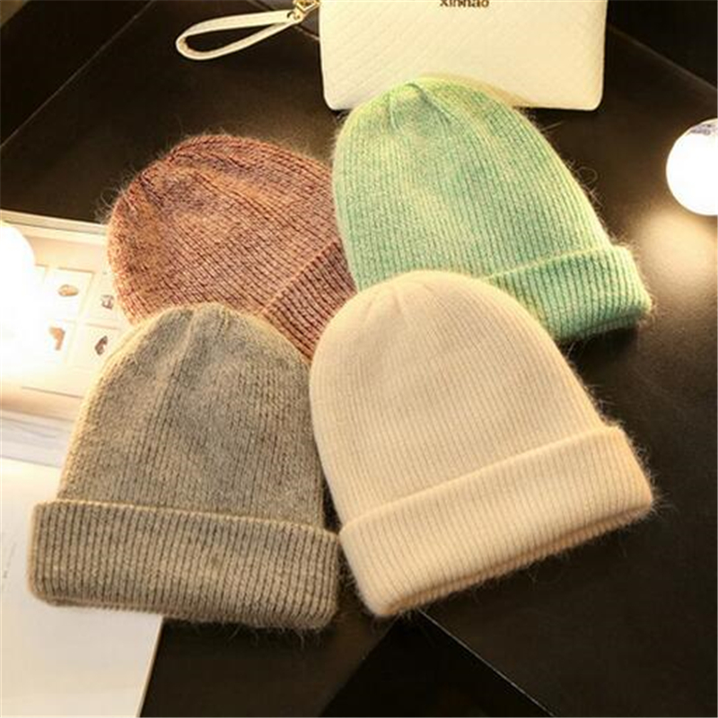 Japanese Street style Skullies Beanies Women Hat wool Knit Hat Female Cap Man Winter Hat For Women wool Beanie Unisex Pure Color skullies